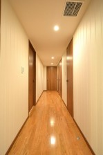 LDK側の廊下
