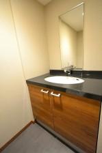 トイレ内の洗面台