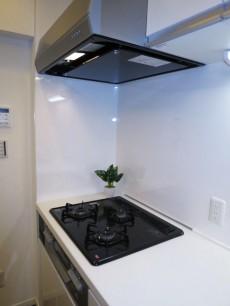 第23宮庭マンション 機能的なシステムキッチン
