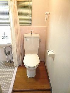 六本木グランドール トイレです。