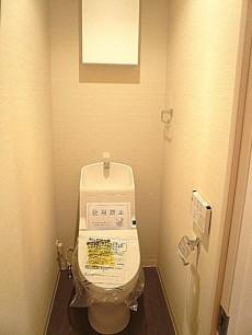 ライオンズマンション広尾第2 ウォシュレット付トイレ