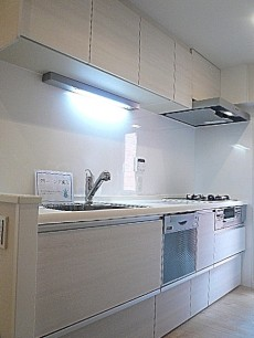 ライオンズマンション広尾第2 食器洗浄機付きシステムキッチン