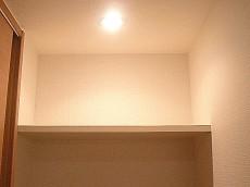 ライオンズマンション白金第2 洗濯機置き場 棚