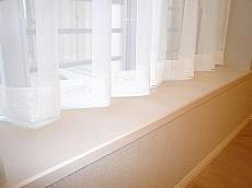 洋室6.3帖 大きな出窓