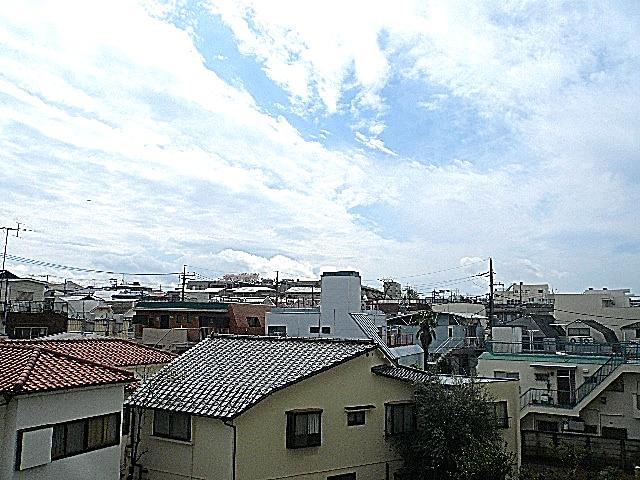 祐天寺第2コーポラス 3階からの眺望