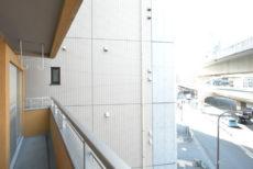 ライオンズマンション西五反田 バルコニー