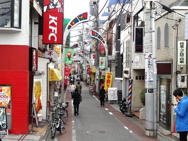 旗の台商店街