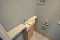 芝浦アイランドケープタワー トイレ手洗い