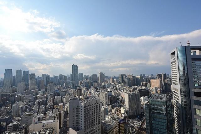 東京ツインパークス・レフトウイング ベッドルームの眺望