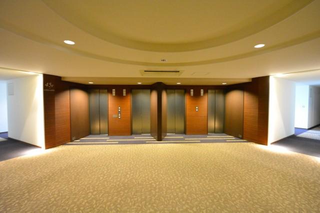 芝浦アイランドケープタワー 45Fエレベーターホール