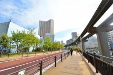 芝浦アイランドケープタワー 遊歩道3