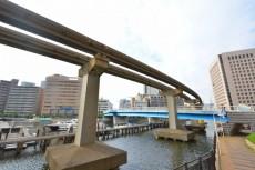 芝浦アイランドケープタワー 渚橋を見る