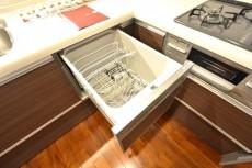 砧スカイハイツ キッチン食洗機