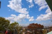 アフェクシオン南烏山 バルコニーから空