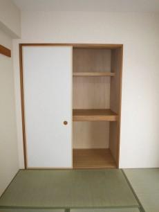 約6.0帖の和室 収納