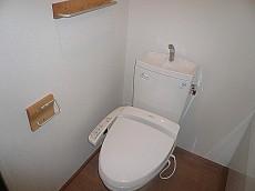 ホームズ緑が丘 ウォシュレット付トイレ