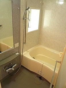 ホームズ緑が丘 追炊機能付き浴室