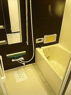 東建マンション学芸大 追炊き機能付き浴室
