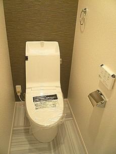 マンション南恵比寿 ウォシュレット付トイレ