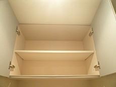 ウォシュレット付トイレ 吊戸棚