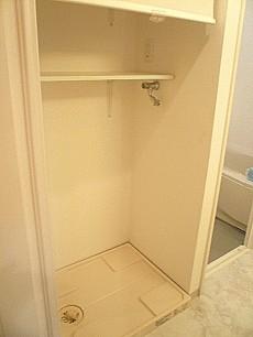 マンション第二恵比須苑 洗濯機置き場