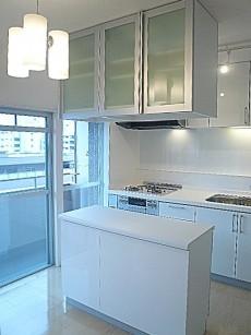 マンション第二恵比須苑 カウンター収納・システムキッチン