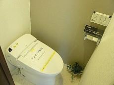 ニュー恵比寿フラワーマンション ウォシュレット付トイレ