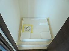 ニュー恵比寿フラワーマンション 洗濯機置き場