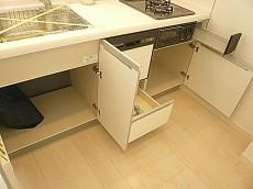 ニュー恵比寿フラワーマンション キッチン収納