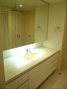 深沢ハウス 洗面化粧台