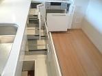 深沢ハウス キッチン収納