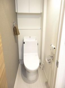 日本橋ニューシティダイヤモンドパレス ウォシュレット機能付きトイレ