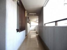 サンセピア幡ヶ谷 共用廊下