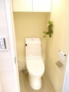 ライオンズマンション半蔵門 ウォシュレット付きトイレ
