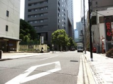 日本橋ニューシティダイヤモンドパレス 前面道路