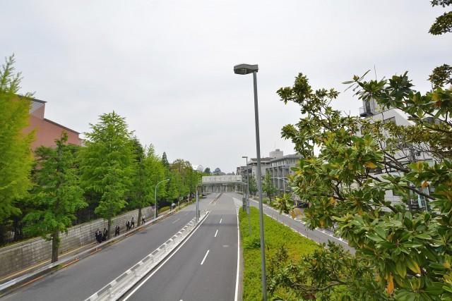 藤和参宮橋コープ 歩道橋から