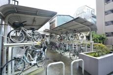 クレッセント中目黒 自転車置場