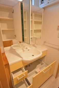 セボン世田谷桜 1階洗面台収納