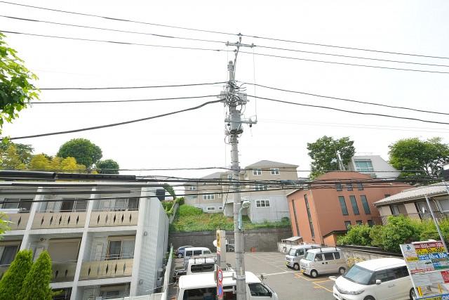 藤和参宮橋コープ バルコニー眺望