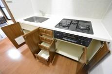 セザール月島 キッチン収納