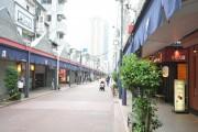 セザール月島 商店街
