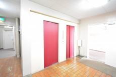 柿の木坂パレス エレベーターホール