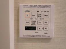 バスルームには浴室換気乾燥機