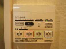 柏木ローズマンション 浴室換気乾燥機が設置されています