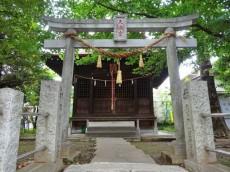 柿の木坂コーポ 神社