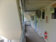 千歳船橋サマリヤマンション 外廊下