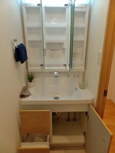 第一東個マンション 洗面台