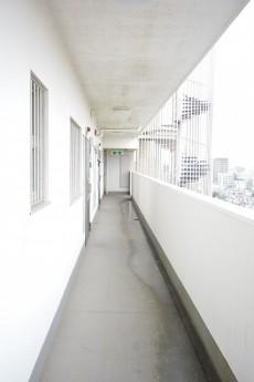 目白が丘マンション 廊下