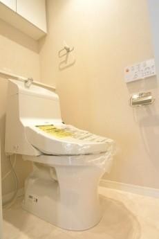 南平台セントラルハイツ ウォシュレット機能付きトイレ