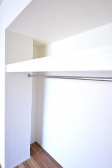 7.0帖のベッドルーム 収納スペース